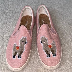 Soludos slip on tennis shoes